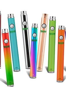 Ooze's stylish Slim Twist vape pens are among the most popular on the market.