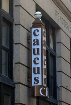 The Caucus Club is planning to re-open in April.
