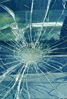 In the last two weeks chunks of concrete have crashed through the windshields of three drivers on I-696