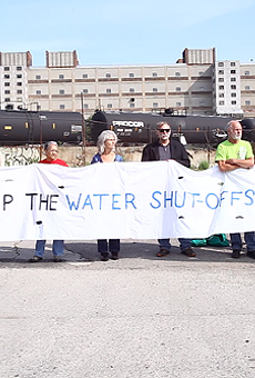 All charges dismissed against the 'Homrich 9' Detroit water shutoff protestors
