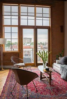 This 1,500 square foot Corktown loft is selling for $695,000.