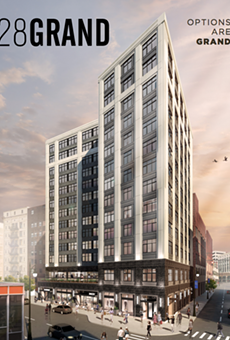 Bedrock's 28Grand building in Capitol Park will include 85 units for households making 60 percent of Area Median Income.