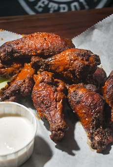 Wings from Sweetwater Tavern.