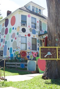 "The Heidelberg Project's ""Polka Dot House."""