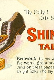 As we uncover historic racism, this Shinola ad certainly stands out