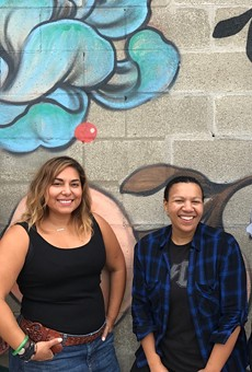 Left to right: Rohani Foulkes of The Farmer's Hand, Lana Rodriguez of Mama Coo's Boutique, Kiki Louya of The Farmer's Hand, and Ash Hipps of The Bearded Lady.