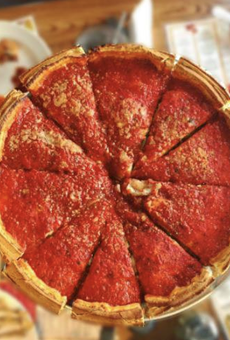Giordano's Chicago-style pizzeria is now open in downtown Detroit