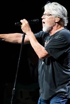 Bob Seger performing at the Palace.