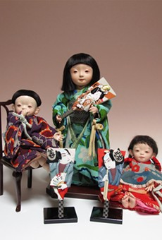 Three dolls by Master Fujimura