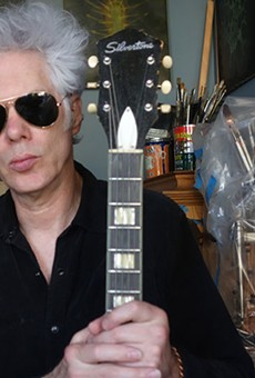 Carter Logan, left, and Jim Jarmusch are Sqürl.