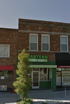 533 W. Cross St. is the center business.