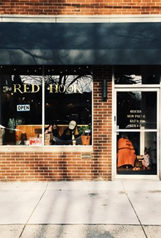 The exterior of Red Hook's Detroit location.