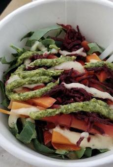 The Amanda salad.