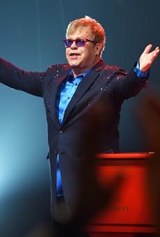 Elton John will perform at Little Caesars Arena on Friday, Oct.  12.