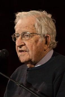 Noam Chomsky will speak in Dearborn on Sunday