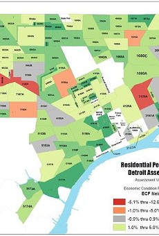 Detroit property values increase for the first time in 17 years