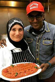 Celebrity chef Marcus Samuelsson made a stop in Dearborn this weekend