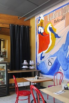 Detroit's Le Petit Zinc is open for business.