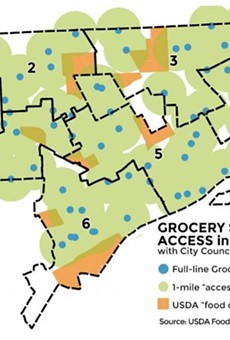 New report reveals 30,000 Detroiters do not have access to healthy food