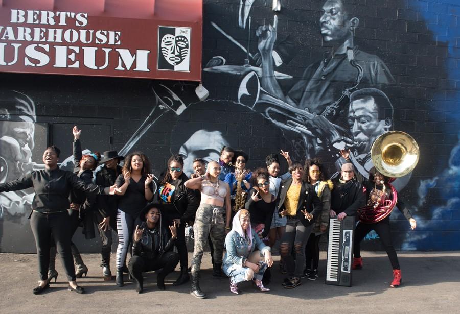 The women of Black Women Rock. - KAHN SANTORI DAVISON