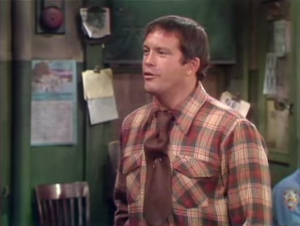 "Max Gail as Det. Stan ""Wojo"" Wojciehowicz. - SCREENSHOT FROM BARNEY MILLER"