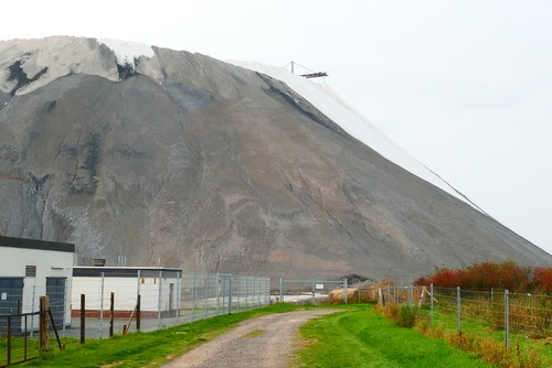 Overburden stockpile from potash mining underground, near Wunstorf, Lower Saxony, Germany - PHOTO COURTESY SHUTTERSTOCK