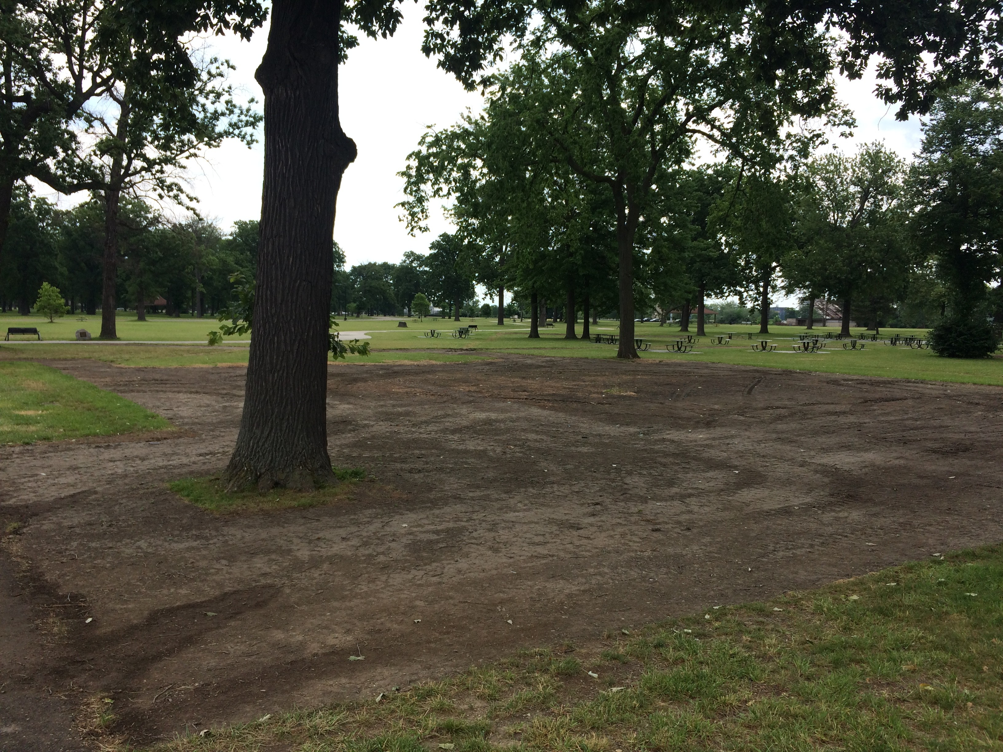 Once again, the Grand Prix tore up Belle Isle, and it\'s a muddy mess ...