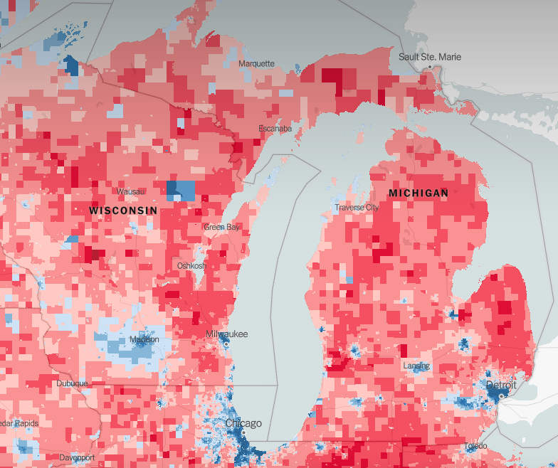 New map shows if your Detroit neighborhood is filled with Trump ...