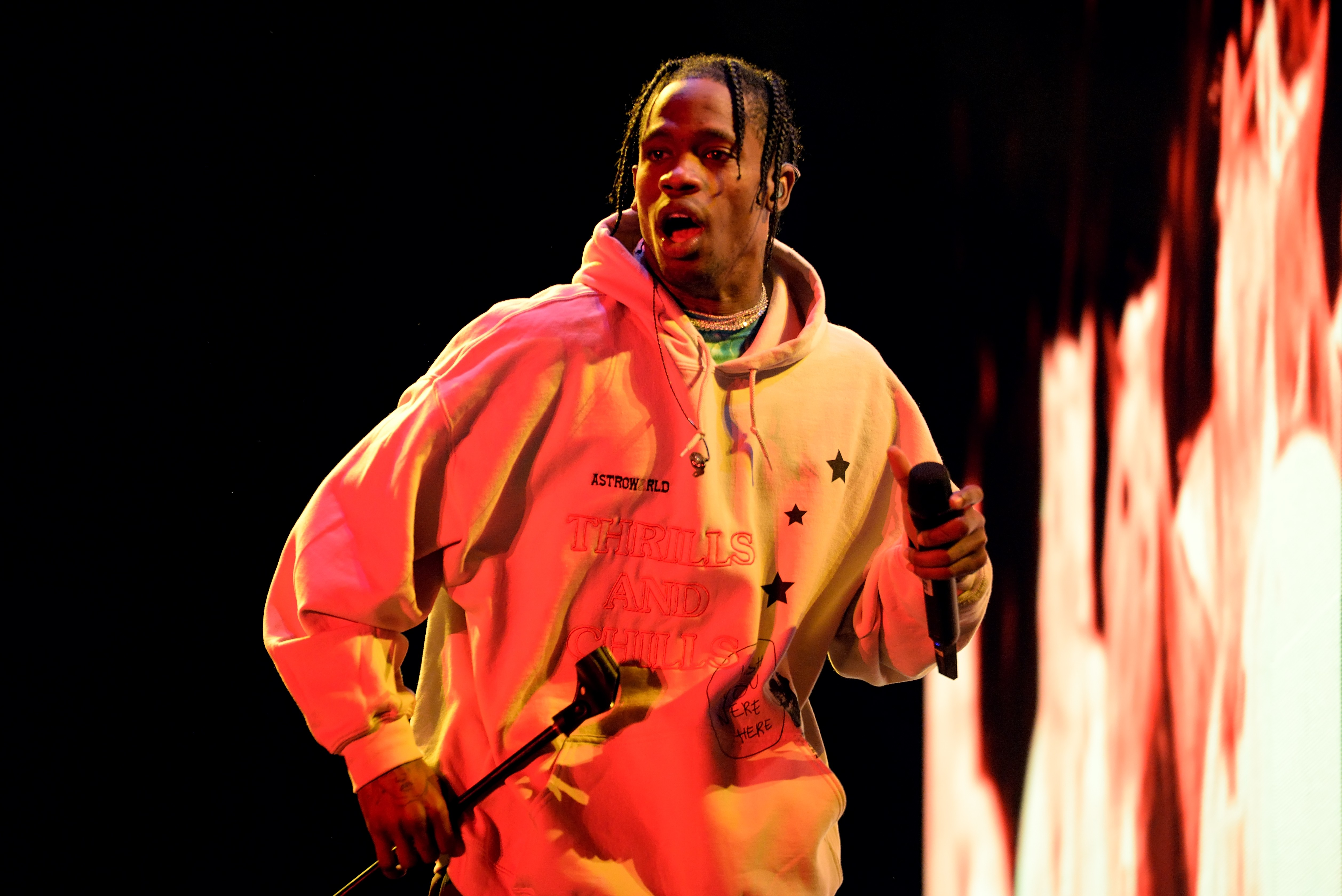 459590733e51 Chart-topping Travis Scott brings 'Astroworld' to Little Caesars Arena |  City Slang