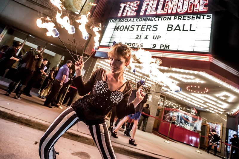 Monster's Ball, Friday, Oct. 26, the Fillmore. - COURTESY PHOTO