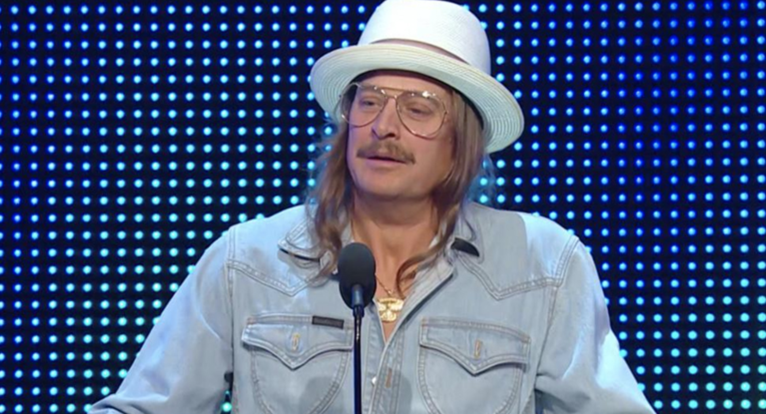 Jimmy Kimmel Tricks People Into Thinking Kid Rock Won Senate Seat