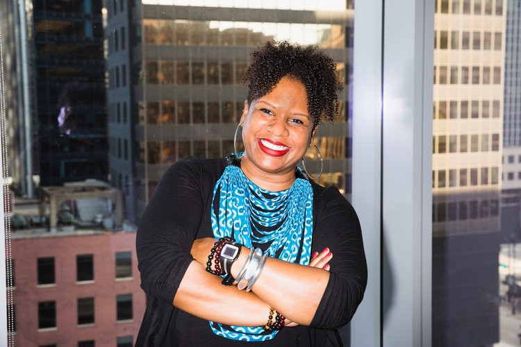 Dara Cooper, co-director of the National Black Food and Justice Alliance. - PHOTO COURTESY OF FOOD LITERACY FOR ALL