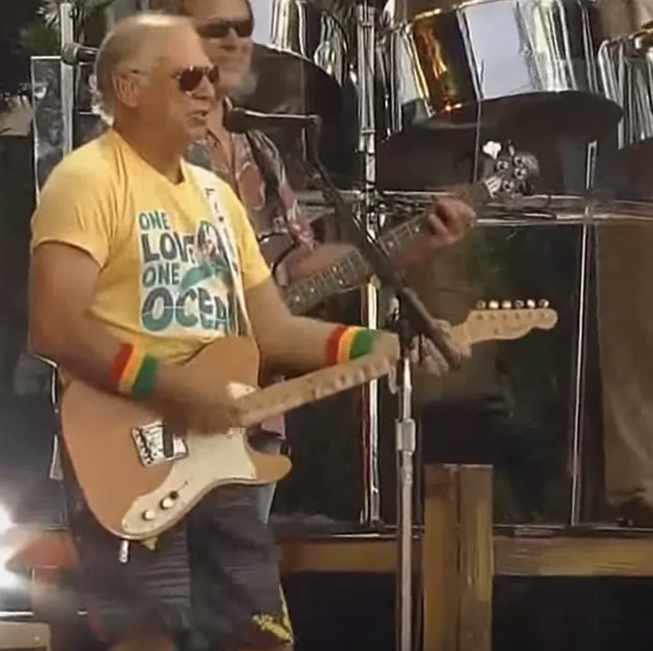 Calling all 'parrotheads' — your one true god Jimmy Buffett