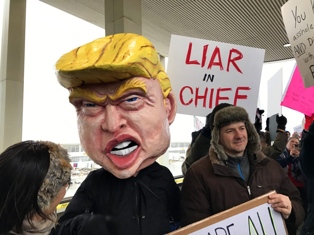 099327cb 5 bullshit claims at Trump's raucous rally in Grand Rapids | News Hits