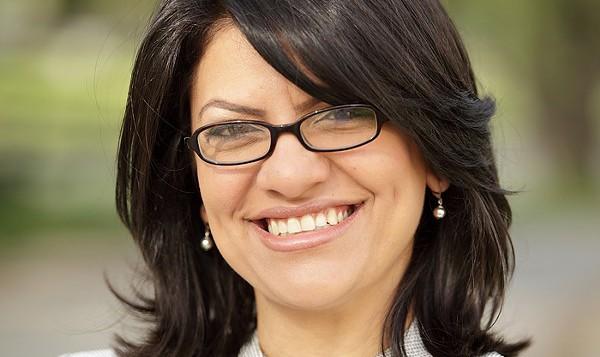 Rep. Rashida Tlaib.