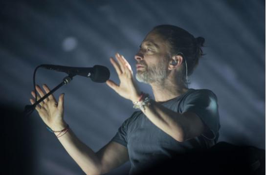 Thom Yorke during Radiohead's 2018 performance at LCA. - AUSTIN EVANS EIGHMEY