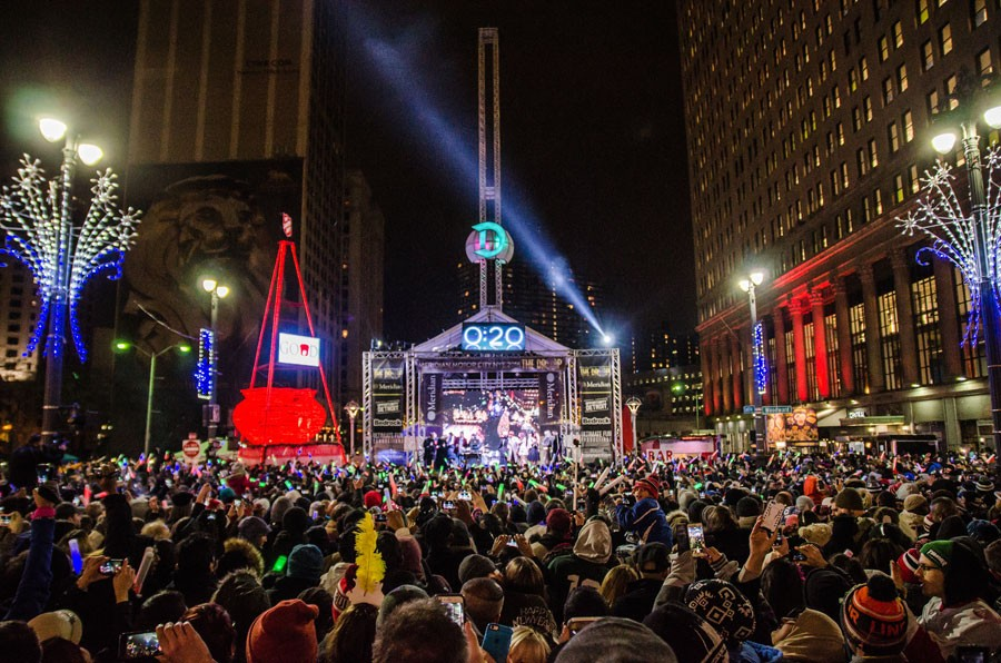 Detroit's 'The Drop' New Year's Eve event is officially canceled but will return in 2021 ...