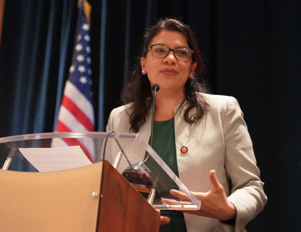 Rep. Tlaib is running for a second term in Congress after strong first year