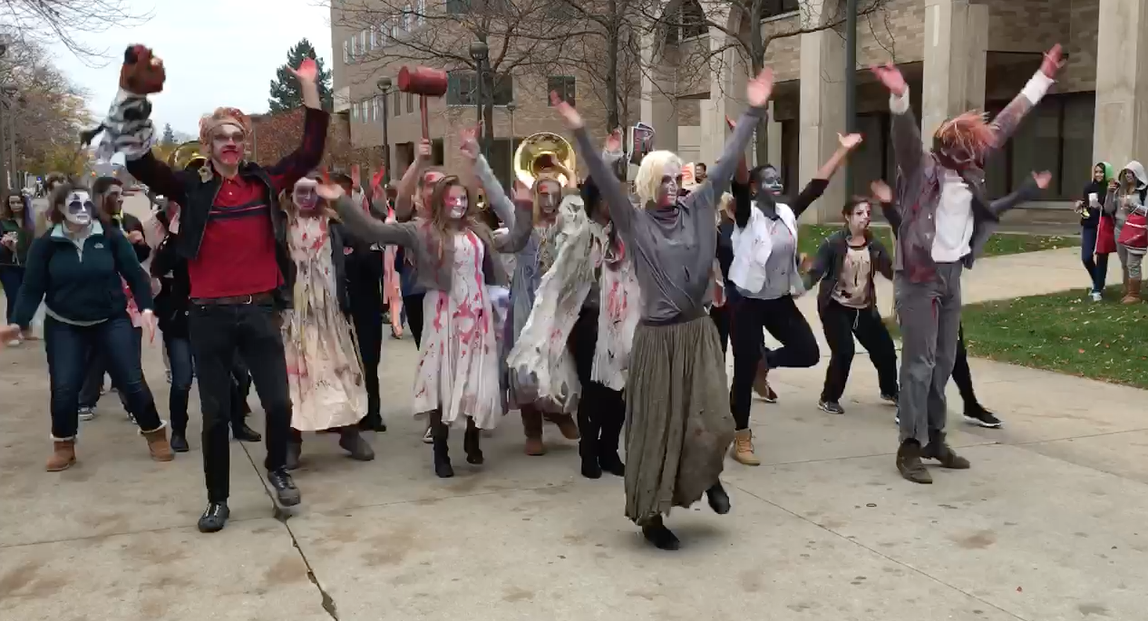 2015 : Zombies Spotted on Wayne State University Campus