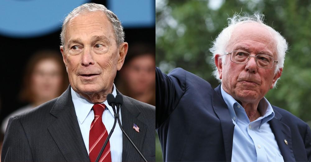 Mike Bloomberg and Bernie Sanders. - SHUTTERSTOCK
