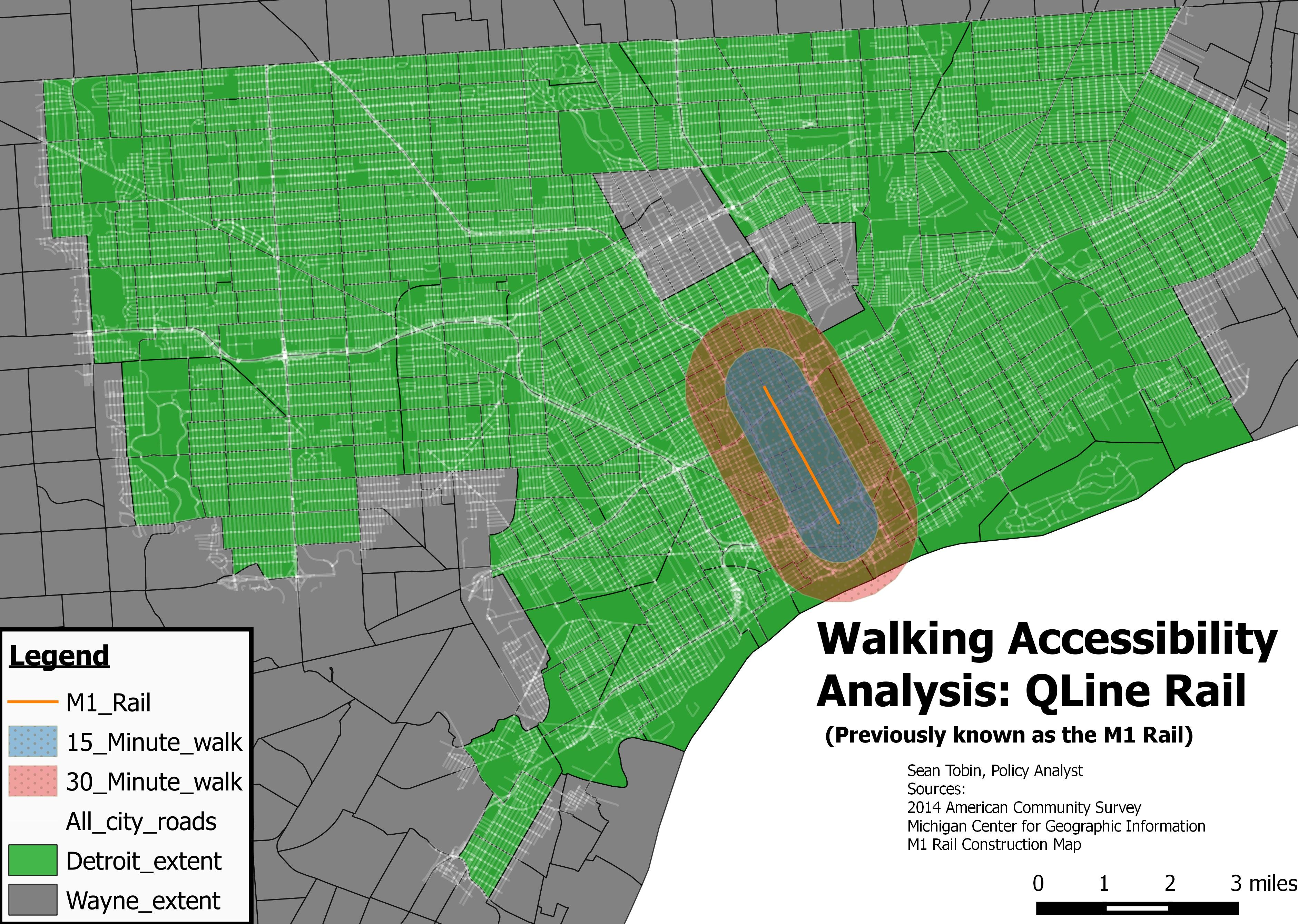 M1 Rail Map Who is the QLine (M 1 Rail) really for? | News Hits