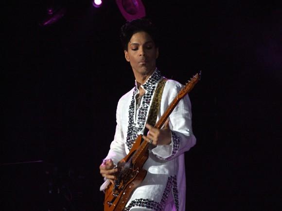 Prince at Coachella - PHOTO VIA WIKIPEDIA