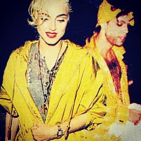 Madonna and Prince. - PHOTO VIA INSTAGRAM