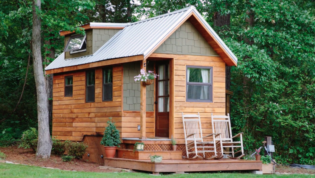39 tiny homes 39 leaves a huge impact blogs detroit metro for Leaf house tiny house