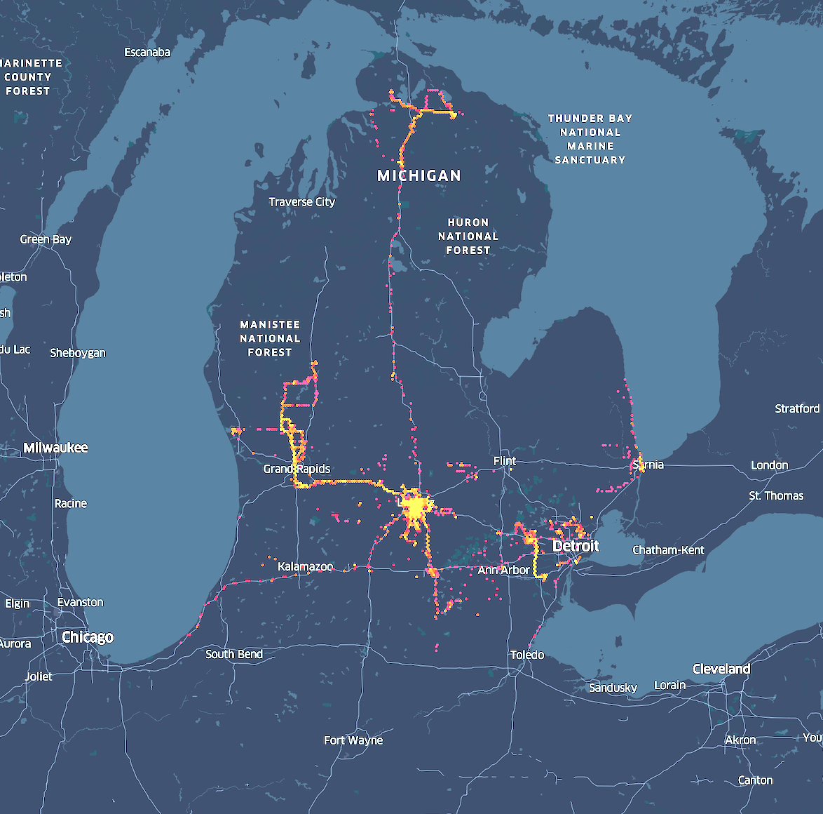Cellphone Data Shows Protesters Dispersed Across Michigan Raising Concerns Of Spreading Coronavirus News Hits