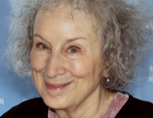 Margaret Atwood - PHOTO BY LARRY D. MOORE COURTESY WIKIPEDIA