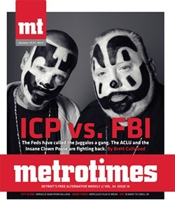 "Brett Callwood's January 2014 story on the FBI designating Juggalos a ""gang."""