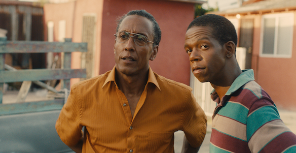 Andre Royo (left) stars in 'Hunter Gatherer.'