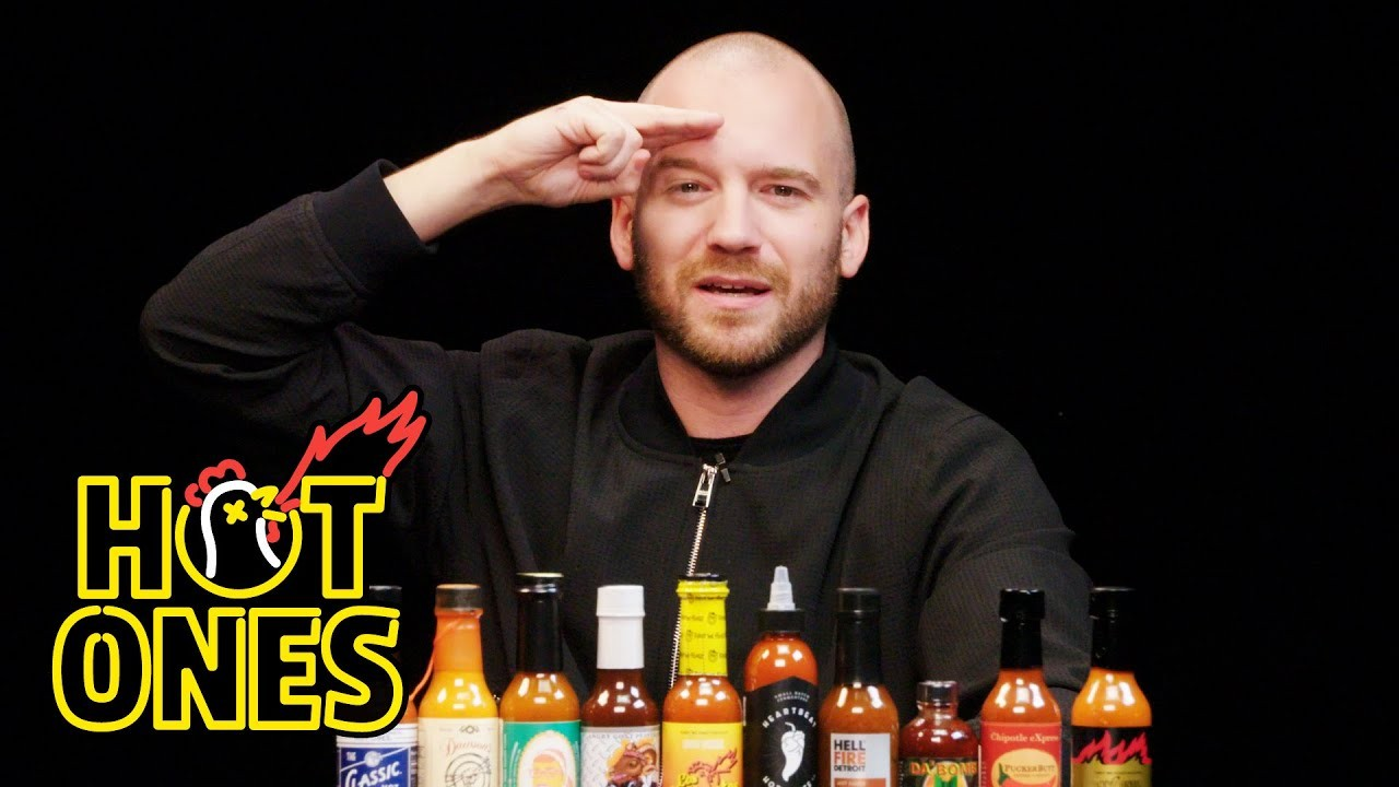 HellFire Detroit returns to 'Hot Ones' with booze-infused Bourbon Habanero  Ghost sauce | Table and Bar