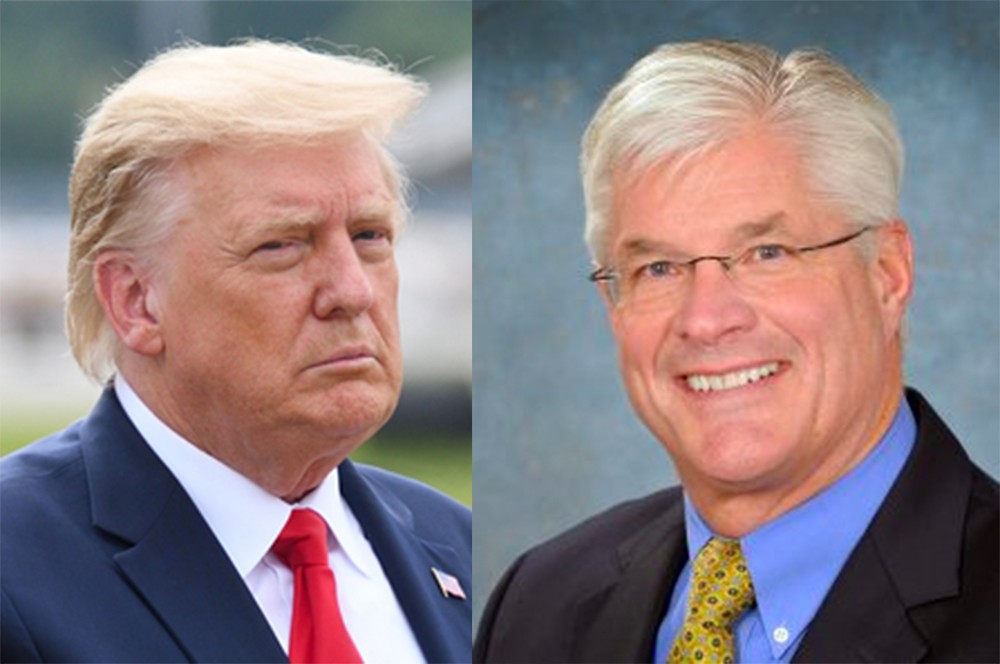Trump admits Michigan Congressmen met to discuss coup